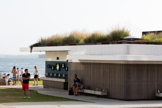 North Bondi Amenities by Sam Crawford Architects with Lymesmith.