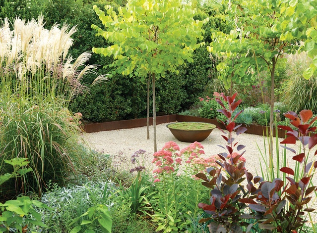 Two adelaide villas architectureau for Landscaping ideas adelaide