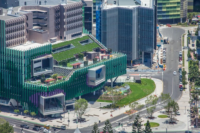 Lady Cilento Children's Hospital by Conrad Gargett.