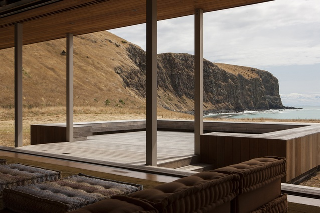Housing category finalist: Scrubby Bay, Banks Peninsula by Patterson Associates.