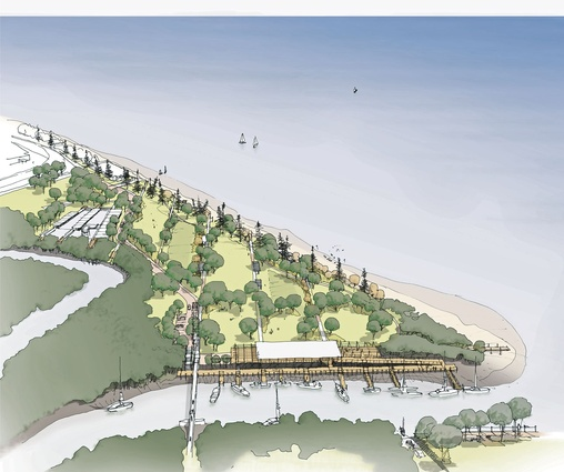 Yeppoon foreshore redevelopment masterplan designed by Architectus.