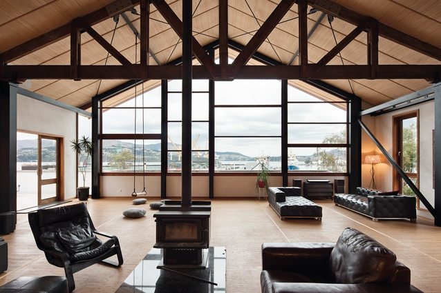 Kingswood House, Lyttleton by MC Architecture Studio.