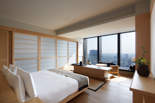 Aman, Tokyo by Kerry Hill Architects.
