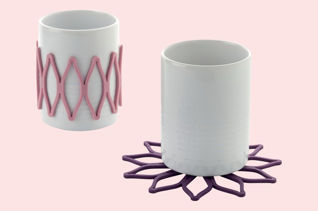 Bloom Cup sleeves/coasters by Toast Living $29.95 for a set of five from The Object Room.