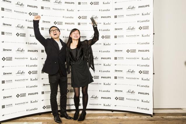 Patrick Loo of Jasmax and Melanie Pau.