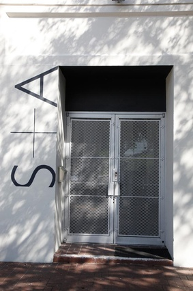 The unassuming entrance to Shulman + Associates.