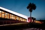 The school lights up