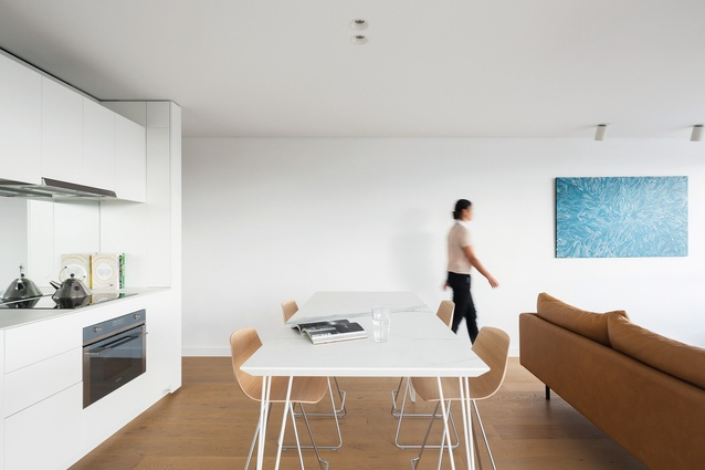 Milsons Point Apartment by Brad Swartz Architects.