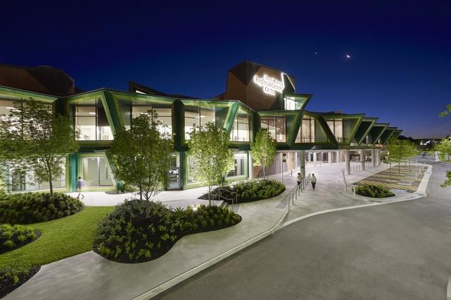Albury Wodonga Regional Cancer Centre by Billard Leece Partnership.
