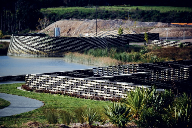 World Landscape of the Year at WAF 2016: Kopupaka Reserve in Whenuapai, West Auckland, designed by Isthmus.