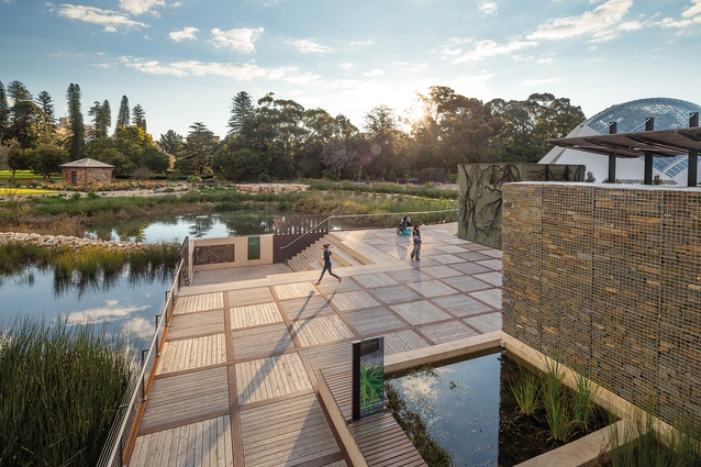 Adelaide Botanical Gardens Wetlands by Taylor Cullity Lethlean with SKM.