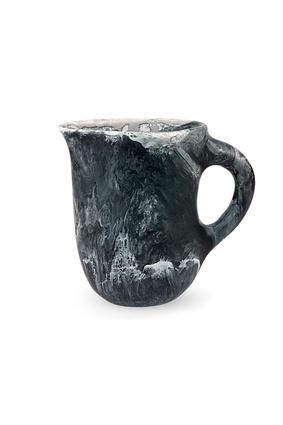 "Resin Rock Jug | $263 from <a  href=""http://www.dinosaurdesigns.com.au/large-resin-rock-jug-black-marble/"" target=""_blank""><u>dinosaurdesigns.com.au</u></a>"