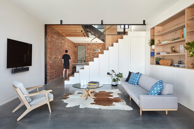 Fitzroy North House by MMAD Architecture.