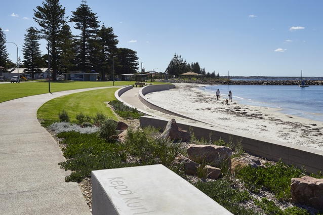 Esperance Waterfront by Hassell.