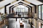 Coastal barn: Glass House Residence