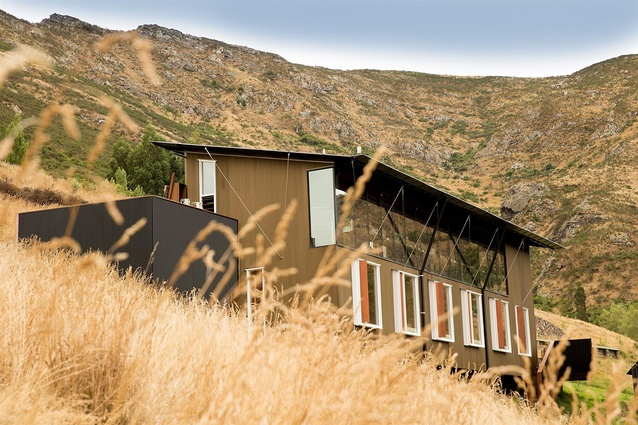 Small Project Architecture Award: Lyttelton Studio Retreat by Bull O'Sullivan Architecture. South east elevation.