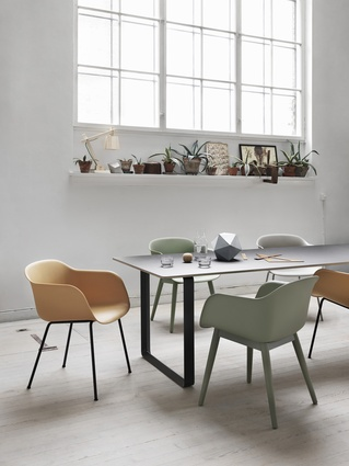 Fiber chair by Muuto.