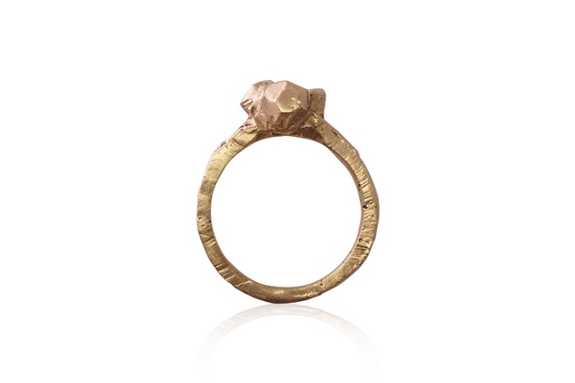 "Rock cluster ring | <a href=""http://alexandradodds.bigcartel.com/product/rock-cluster-ring"" target=""_blank""><u> $275 from Alexander Dodds.</u></a>"