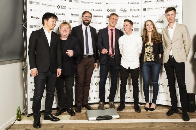 Fearon Hay Architects Team. Winner: 2014 Hospitality Award and Supreme Award.