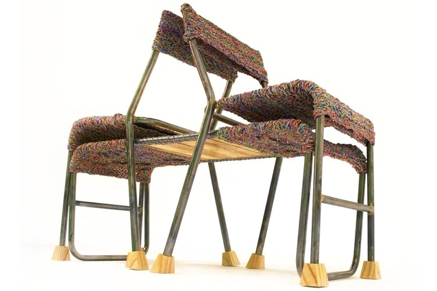 <em>Four chairs</em> by Tori Gibbs, Natalie Colville, Anna Hunt, Laura Murray and Hanna Roache was highly commended in 2013.