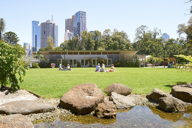 Fitzroy Gardens Redevelopment Project by City of Melbourne City Design Studio.