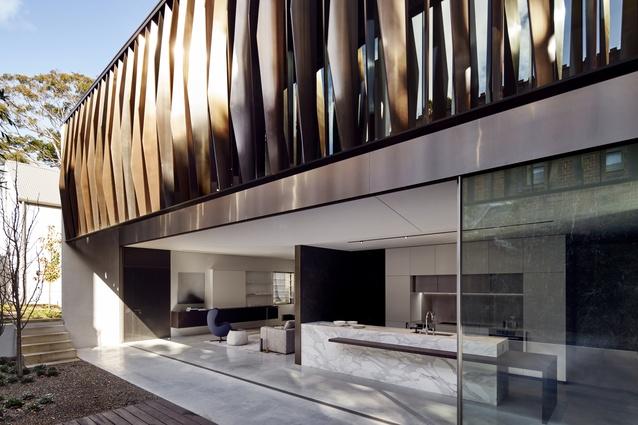 Queen Street Residence by Christina Markham and Rita Qasabian (formally Studio Internationale Pty Ltd).