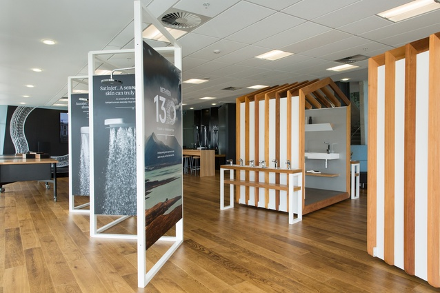 The Source, a showroom and inspiration zone for customers and industry professionals.