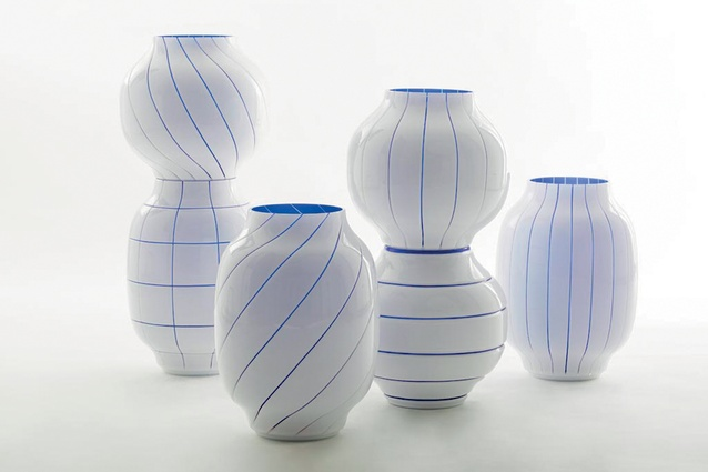 "Interlinea vases by Matteo Zorzenoni I $POA from  <a  href=""http://www.matteozorzenoni.it/index.php?/product/interlinea-vases---nason-moretti--new/"" target=""_blank""><u>matteozorzenoni.it</u></a>"