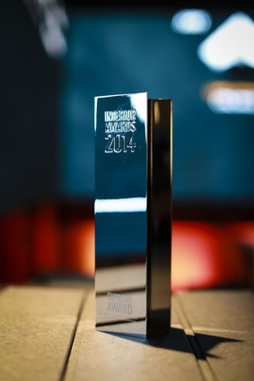 2014 Interior Awards Supreme Trophy.