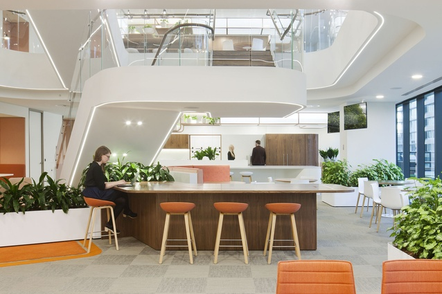 Jemena Melbourne Workplace by Woods Bagot