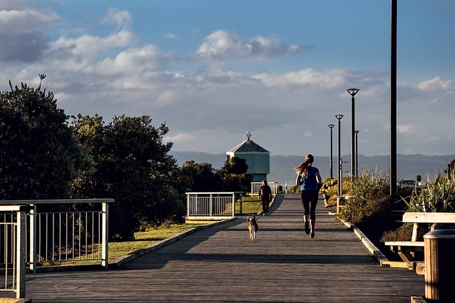 Locals make the most of the region's warm climate.