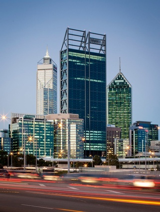125 St George's Terrace, Perth's newest skyscraper, by fitzpatrick+partners and Hassell.
