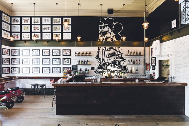 Prohibition features artwork from BMD and tattoo artists from around the world.