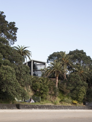 The Point Chevalier home is designed by Ponting Fitzgerald.