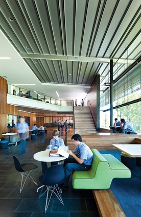 The Lilley Centre, Brisbane Grammar School by Wilson Architects.
