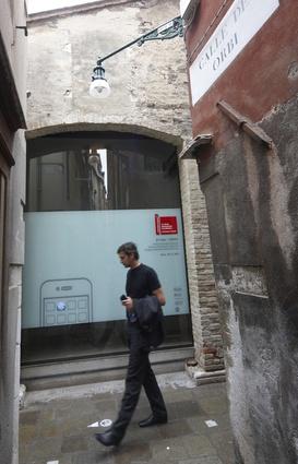 On the street. Venice, 26 August.