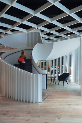 Australia Post StarTrack House in Sydney by Carr Design Group.