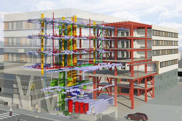 Archaus is currently undertaking one of New Zealand's first fully BIM-enabled projects in Wellington – a $70-million hotel and car park project at the airport.
