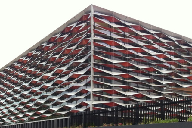 Bankstown Library and Knowledge Centre by Francis-Jones Morehen Thorp (FJMT).
