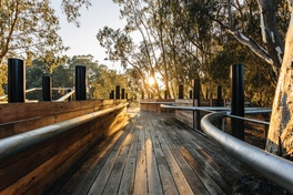 Ebb and flow: Koondrook Wharf