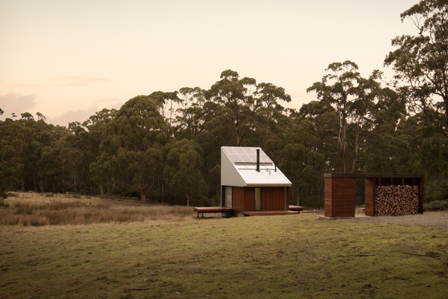 Bruny Island Hideaway by Maguire and Devine Architects.