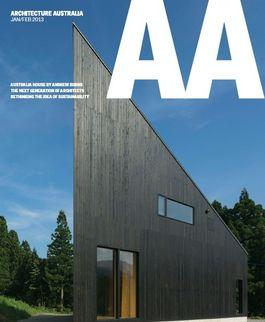 Architecture Australia, January 2013