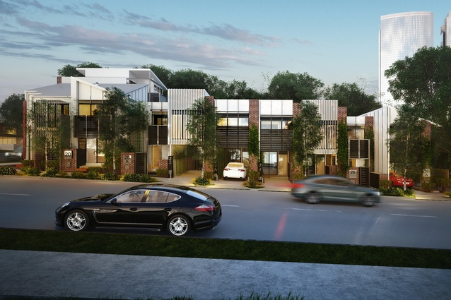 Envi Micro Urban Village by Degenhart Shedd will comprise 10 affordable terrace houses on a standard corner lot.