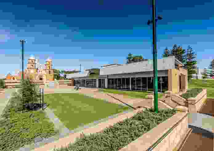 St Francis Xavier Cathedral Precinct, Geraldton by John Taylor Architect.