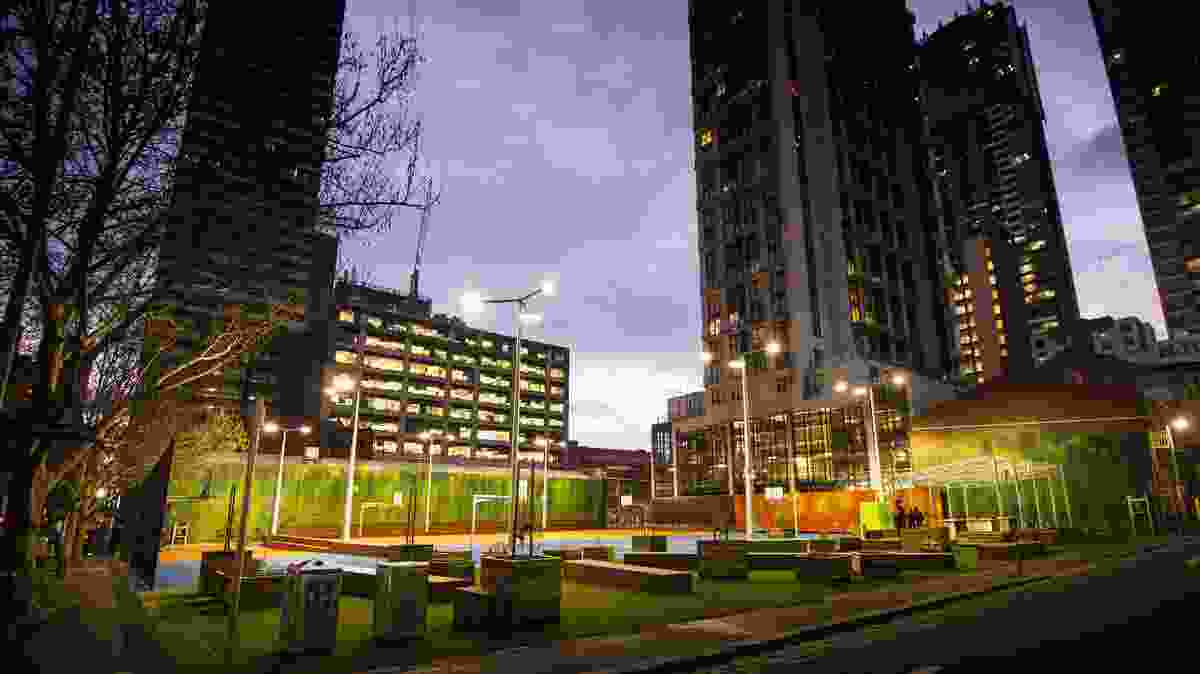 RMIT A'Beckett Urban Square by Peter Elliott Architecture + Urban Design.