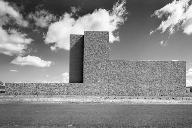 Torin factory building by Marcel Breuer, 1976.