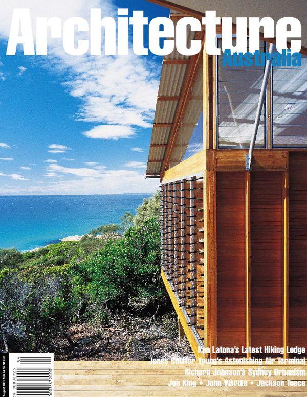 Architecture Australia, July 2000