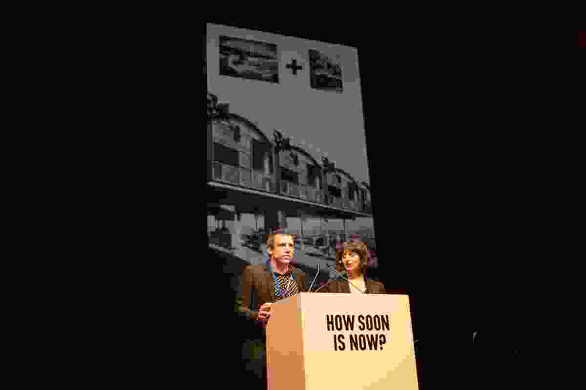 Urtzi Grau and Cristina Goberna of Fake Industries Architectural Agonism.