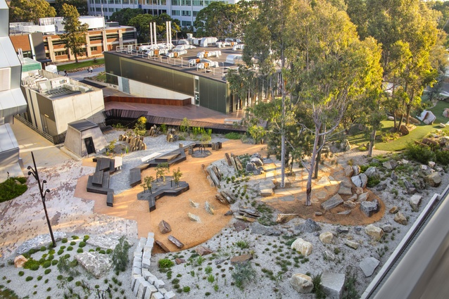 Earth Sciences Garden, Monash University by Rush Wright Associates.