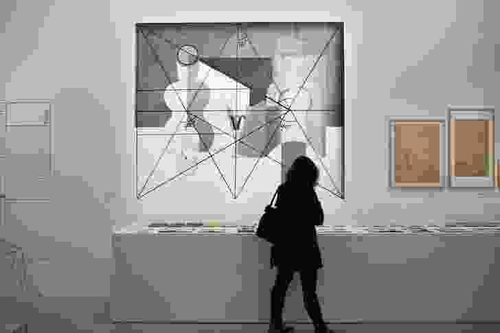Display at the Le Corbuesier - Mesures de l'Homme exhibition at the Pompidou, 2015.